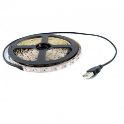 Tira LED 5050 IP20 5V B. Frío
