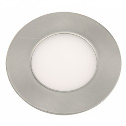 Downlight LED 5W Niquel ultrafino