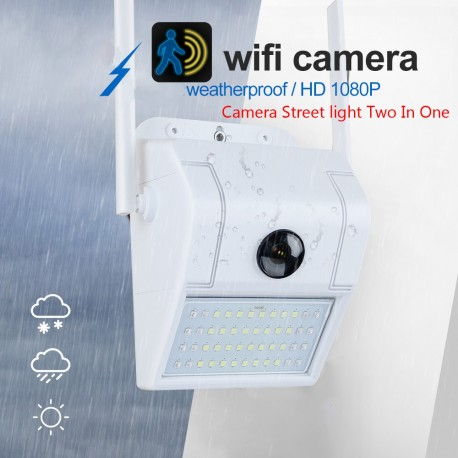 Camara WIFI con LED IP65