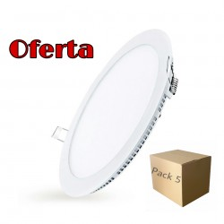 Pack 5 Downlight Ultrafino